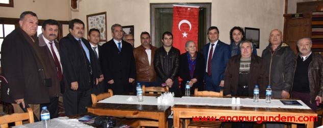 Başkan Türe, Anamurlu gazetecileri bir kez daha onore etti